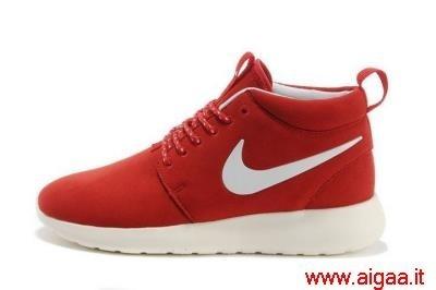nike scarpe rosse,scarpe nike rosse alte