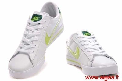 scarpe nike bianche e verdi,scarpe nike bambino alte