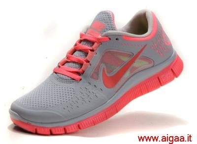 scarpe nike grigie e rosa,scarpe nike alte grigie