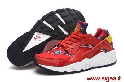 nike scarpe uomo alte,nike scarpe huarache rosse