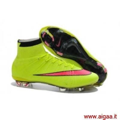 scarpe da calcio nike mercurial verdi,scarpe da calcio nike alte bambino